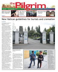 Issue 55 - The Pilgrim - November 2016 - The newspaper of the Archdiocese of Southwark