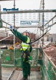 SP140 Energy Absorbing Lanyard Range