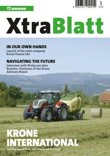 XtraBlatt issue 01-2016