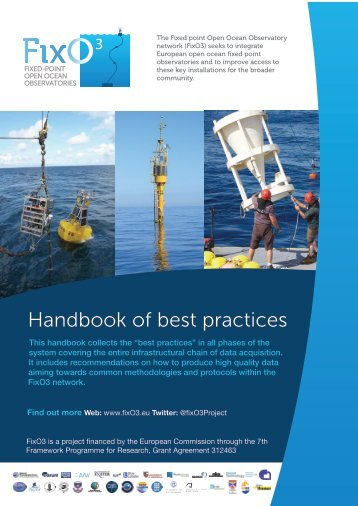 Handbook of best practices