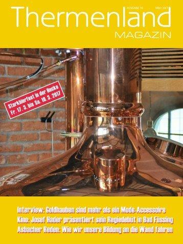 Thermenland Magazin März 2017