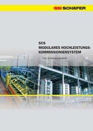 SCS MODULARES HOCHLEISTUNGS ... - SSI Schäfer