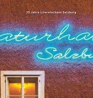 25 Jahre Literaturhaus Salzburg
