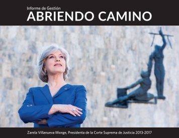 Informe Gestión Zarela Villanueva Monge