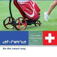 at-hena - Innovative Golfprodukte 2017