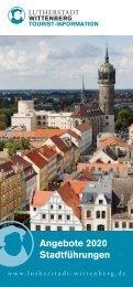 Stadtfuehrungsbroschüre 2019 Lutherstadt Wittenberg