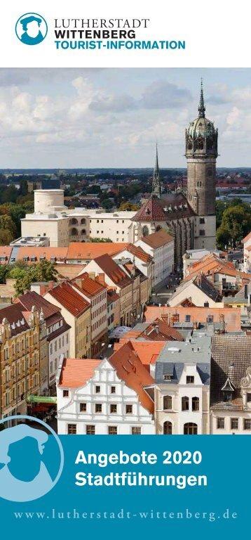 Stadtfuehrungsbroschüre 2018 Lutherstadt Wittenberg
