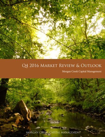 Q4 2016 Market Review & Outlook