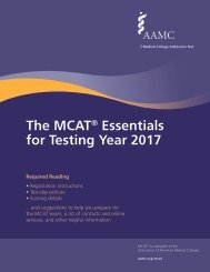 The MCAT Essentials for Testing Year 2017