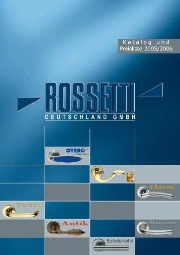 Katalog 2005 - AHB-Griffe
