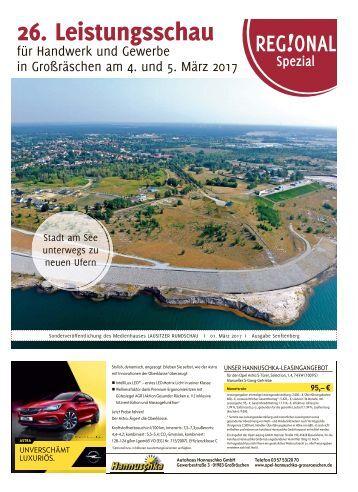 26. Leistungsschau für Handwerk und Gewerbe in Großräschen am 4. und 5. März 2017