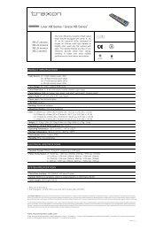 Liner XB Series spec v1.2 - Osram