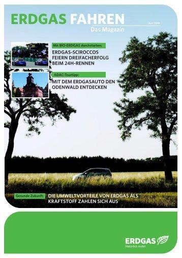 Erdgas fahren - Das Magazin - Juni 2010 - Erdgasfahrzeuge