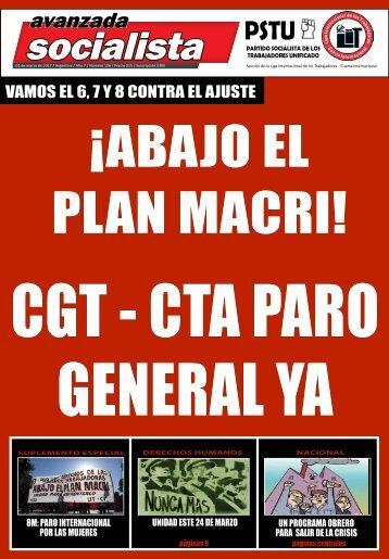 CGT - CTA PARO GENERAL YA