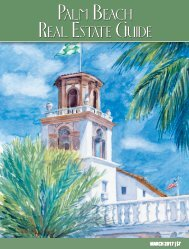Palm Beach Real Estate Guide March 2017
