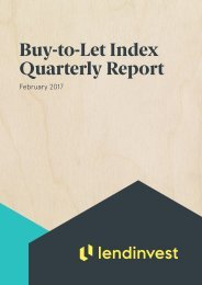 Buy-to-Let Index Quarterly Report