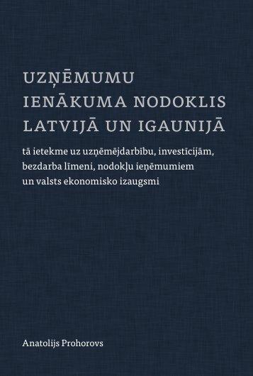 ienākuma nodoklis latvijā un igaunijā