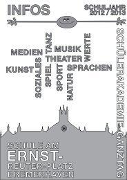 JG 5+6 - Schule am Ernst-Reuter-Platz in Bremerhaven