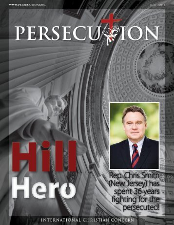 March 2017 Persecution Magazine