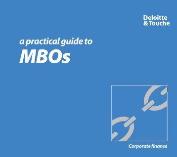 A practical guide to MBOs - Austrian Private Equity and Venture ...