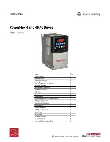 powerflex 4 manual