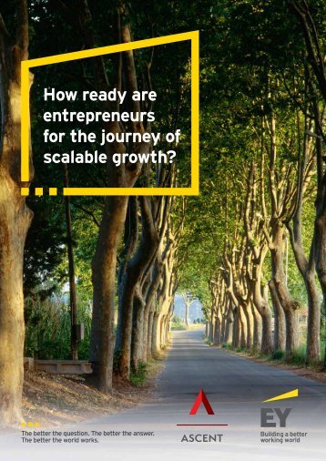How ready are entrepreneurs for the journey of scalable growth?