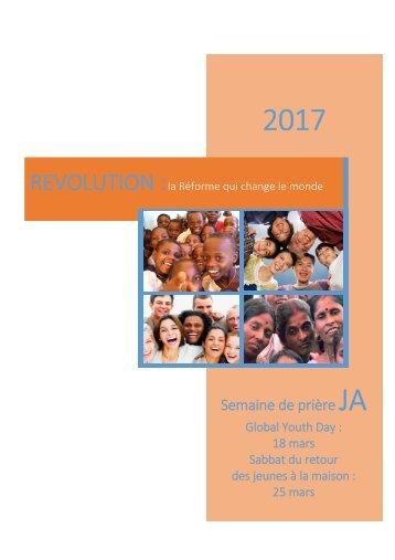 Semaine de prière JA 2017