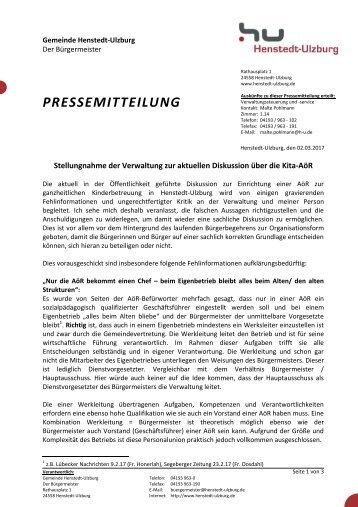 2017-03-02 Stellungnahme_Verwaltung_Kita-AöR