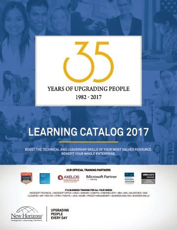 LEARNING CATALOG 2017