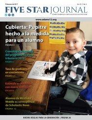 Spanish 2017 Spring Five Star Journal