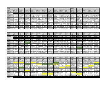 2017-18Schedules