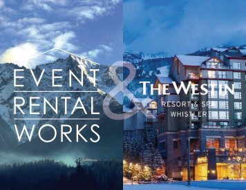 Westin and Event Rental Works
