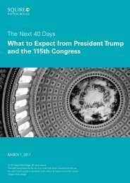 What to Expect from President Trump and the 115th Congress