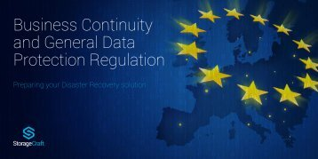 Business Continuity and General Data Protection Regulation