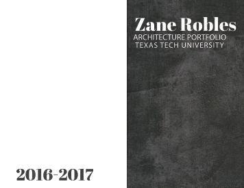 Zane Robles- My Portfolio