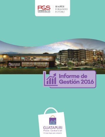 CARTILLA INFORME DE GESTION 2016 - GUATAPURI CARTA