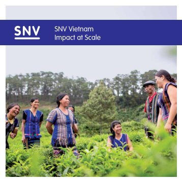 SNV Vietnam Impact at Scale