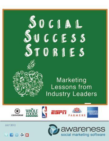 Social Success Stories - Amazon Web Services