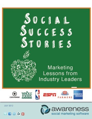 Social Success Stories - Amazon Web Services
