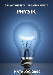wärmelehre ii - AV Medien - Arbeitstransparente Physik