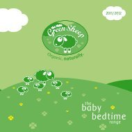 baby bedtime - The Little Green Sheep