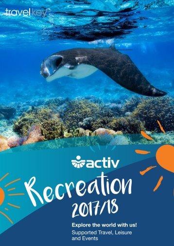 Activ Recreation Brochure 2017/18