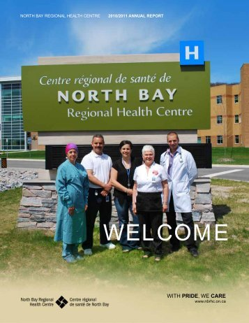 Annual Report - North Bay Regional Health Centre