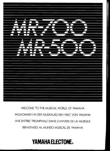 MR-700 - Yamaha