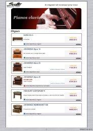 télécharger notre catalogue pianos claviers au ... - Scotto Musique
