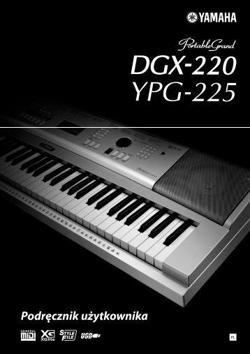 2 Użyj przycisków CATEGORY - Yamaha