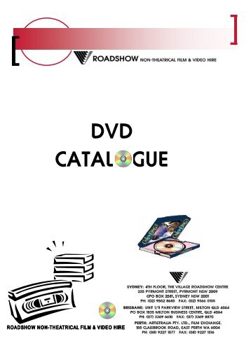 DVD CATALOGUE - Agrimedia
