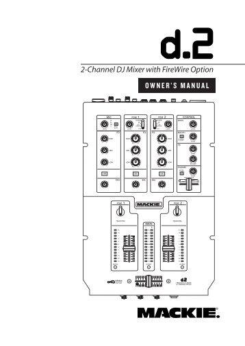 mackie 808s powered mixer manual