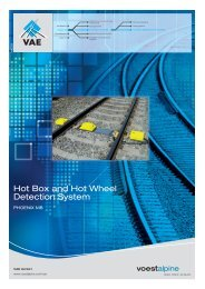 Hot Box and Hot Wheel Detection System PHOENIX - voestalpine