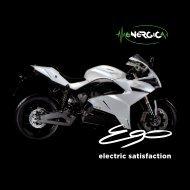 Broschüre Energica Ego 2017